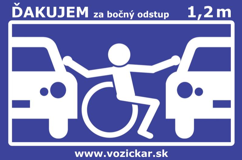 Značka invalidného vozíka na auto